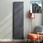 Vertical Radiators in Alstone, Somerset 1